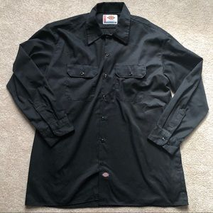 Men's x-large dickies collard button down